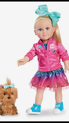 My Life As A JoJo Siwa Doll doll is poseable with a soft torso Brushable hair to play with and style Doll accessories and clothing fit most dolls Made o Jojo Siwa Bows, Jojo Bows, Girl Dolls, Baby Dolls, Jojo Siwa Outfits, Jojo Siwa Birthday, 8th Birthday, Dance Moms Girls, Toys For Girls