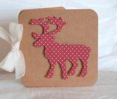 Handmade Reindeer Christmas Cards