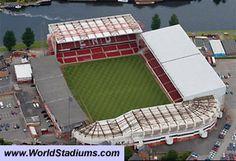 City Ground Stadium in Nottingham Nottingham Forest Football Club, Nottingham City, Outdoor Furniture, Outdoor Decor, Sun Lounger, United Kingdom, England, Europe, The Unit