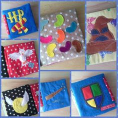 New baby sensory cloth book - Harry Potter inspired ...