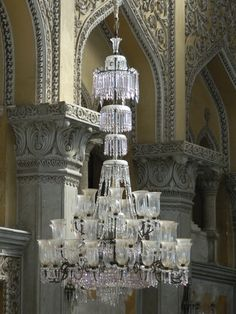 Chandelier at Chowmahalla Palace