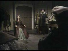 Anne Boleyn offers an heroic defense against ludicrous charges of adultery, incest and treason against her husband, Henry VIII of England. Dorothy Tutin, as Anne Boleyn in the BBC Teleplay, 'The Six Wives of Henry VIII'. Elizabeth Howard, Lady Elizabeth, Tudor History, British History, English Reformation, House Of Stuart, Tudor Monarchs, Catherine Parr, Charles Brandon