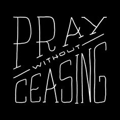 Pray without ceasing. Design by @zeketucker. #vrsly #madewithvrsly #pray (at .99 in the App Store.)