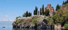 Macedonia , Lake Ohrid [I think]