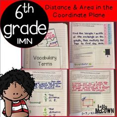 These interactive notebook activities are intended to help students understand how to draw polygons in the coordinate plane given coordinates for the vertices, use coordinates to find the length, apply techniques for solving real world problems, understanding a rational number as a point, extend number line diagrams and coordinate axes, and understand ordering and absolute value of rational numbers.