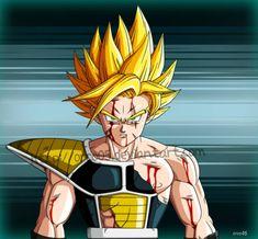 Fanart for -> based on Dragon Ball Z world. Original drawing is px Dragon Ball Z © of Akira Toriyama Rensou -battle damaged- Dragon Ball Z, Martial Arts Anime, Dbz Drawings, Goku Super, Character Art, Battle, Fan Art, Deviantart, Geek