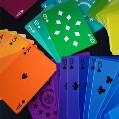 Colored Playing Cards - - TCH Store Global