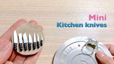 改造|奶粉蓋做[迷你廚房刀具組]DIY miniature Kitchen knives/Dolls house/袖珍屋/娃娃屋