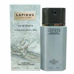 LAPIDUS by Ted Lapidus EDT SPRAY 3.3 OZ for MEN by Ted Lapidus. $21.95. EAU DE TOILETTE. 3.3 FL. OZ. / 100 ML. NATURAL SPRAY. NEW IN MFG PACKAGING. Beautiful and distinctive, TrendToGo brings you another fine fragrance from Ted Lapidus ALL Fragrances are 100% Guaranteed Authentic.  Add it to your cart now: LAPIDUS by Ted Lapidus EDT SPRAY 3.3 OZ for MEN Gender: Men's Brand: Ted Lapidus