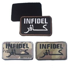 """""""Infidel"""" Tactical Velcro Patch 