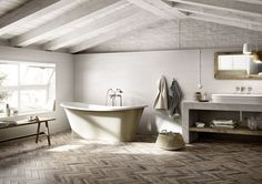 Gres effetto legno: le nuove proposte MarazziBagni dal mondo | Un blog sulla cultura dell'arredo bagno