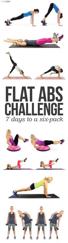 Work your way to a 6-pack with this workout!