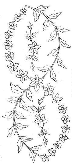 vintage embroidery pattern free pattern