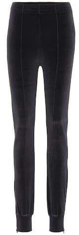 Yeezy Exclusive to mytheresa.com – velour sweatpants (SEASON 5) Yeezy Season, Athletic Pants, Sweatpants, Seasons, Fabric, Black, Fashion, Tejido, Moda