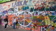 John Lennon Wall Prague