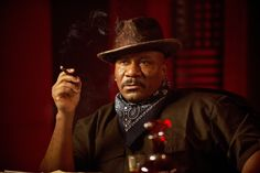 Ving Rhames And Cigar.Great Actor. | CIGAR&FASHION EVERY TIME