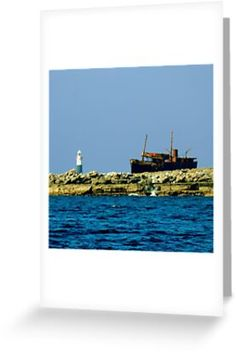 'Shipwreck' Greeting Card by Irish-Nostalgia Comedy Series, Comedy Tv, Father Ted, West Coast Of Ireland, Wild Atlantic Way, County Clare, Into The West, Opening Credits, Shipwreck