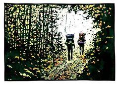 Fall Hikers - Sivertson.com