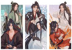 Manga Art, Manga Anime, Anime Art, Chinese Cartoon, Novel Characters, Memes, Best Novels, The Grandmaster, Shounen Ai