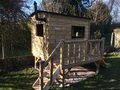 Cabane pour enfants en bois Instructions de montage...