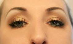 Bronzed Beauty: Golden Smokey Eye Tutorial | Wonder Forest: Style, Design, Life. Summer/Spring perfection.