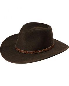 2ae5db27707 Stetson Sturgis Pinchfront Crushable Wool Felt Hat