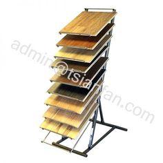 WD634 Floor-standing Display Stand For HARDWOOD Tile Display