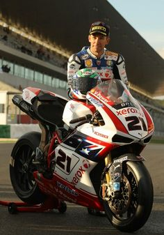 Troy Bayliss - All around good guy. Family man, approachable, Ducati racer. One of my favorite racers!