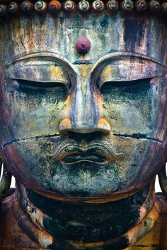 ◽️ COLORFUL BUDDHA by Josh Bulriss