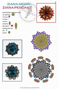 .Beads pendant tutorial