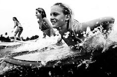 Surfing with your girls!