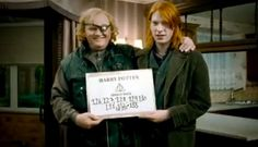 A reminder that Domhnall Gleeson, who played Bill Weasley, in real life is the son of Brendan Gleeson, who played Mad-Eye Moody. Draco Harry Potter, Harry Potter Actors, Harry Potter Universal, Film France, Brendan Gleeson, Deathly Hallows Part 1, Domhnall Gleeson, Casting Pics, Demi Moore