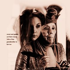 Olenna and Margaery Tyrell ~ Game of Thrones Fan Art