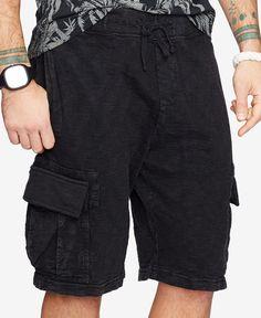 49bdfb9a642 Denim  amp  Supply Ralph Lauren Men s Jersey Cargo Shorts Jersey Shorts