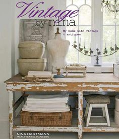 Vintage by Nina Book Nina Hartmann French Design by edithandevelyn, $66.00