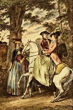 f6d4efeeb57 Reinette  Amazons and Equestriennes Ladies on Horseback Side Saddle