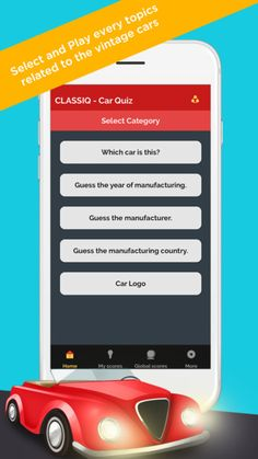 An awesome app exclusively for antique car lovers  #classic #cars #quiz #apps #android #ios