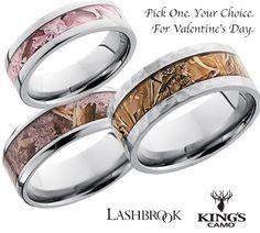 Win a Custom Titanium Camo Ring