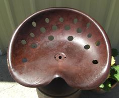 Tractor Seat Milk Can Stool All steel construction by BretJames, $95.00