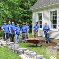 Lowe's Front Yard Makeover in Portland, Maine featuring a ...