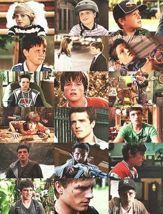 Josh Hutcherson 10 years of movies 2003-2013