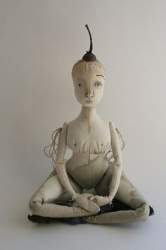 Wood Nymph art doll by The Pale Rook