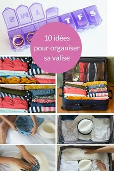 Discover our 10 tips to keep all your clothes in one suitcase! Travel Packing, Travel Backpack, Travel Tips, Travel Ideas, One Suitcase, Diy Organisation, Travel Scrapbook, Ultimate Travel, Travel With Kids