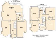 Floorplan Kinross - see kitchen