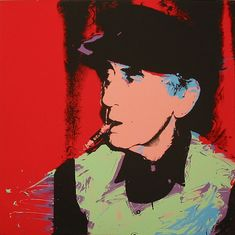 Man Ray F. 148 by Andy Warhol. Buy pop artist Andy Warhol screen prints for sale online or visit contemporary art gallery in nyc Andy Warhol Pop Art, Andy Warhol Portraits, Man Ray, Francis Picabia, Pop Art Movement, Oeuvre D'art, American Artists, Les Oeuvres, Screen Printing