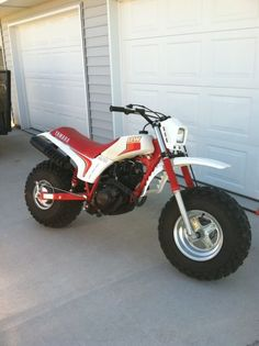 Kicking it old school! Yamaha BW200! Got one!!!