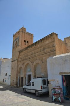 Kairouan, Mosque of the Three Doors, built 866, Tunisia