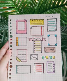 31 Simple Doodles You Can Easily Copy in Your Bullet Journal - Simple Life of a Lady Bullet Journal School, Bullet Journal Titles, Bullet Journal Banner, Journal Fonts, Bullet Journal Aesthetic, Bullet Journal Notebook, Bullet Journal Spread, Bullet Journal Inspiration, Planner Journal