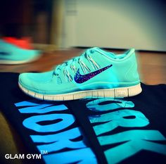 timeless design 1fbeb 88d79 Nike Free 5.0 Tiffany Blue Blue Glow - Click Image to Close Cheap Sneakers,  Blue