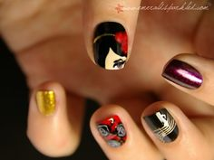 Amy Winehouse nails